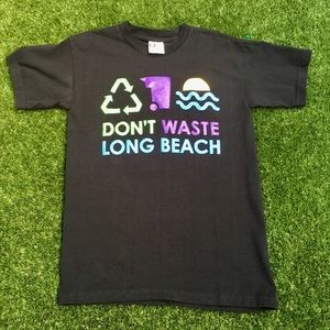 "Vintage ""Don't Waste LB"" Recycling Tee"